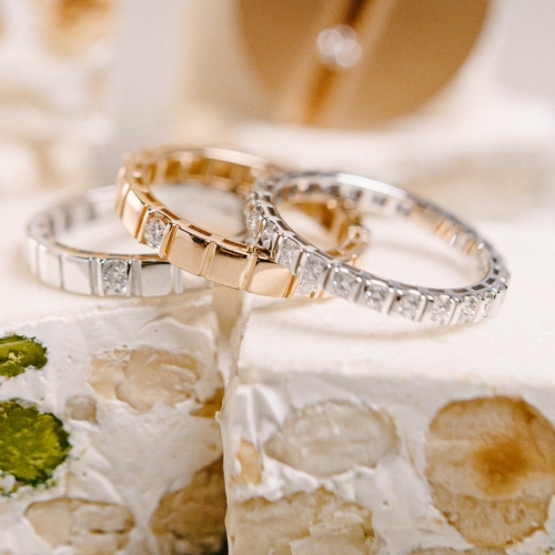 Memory - Ring mit Brillanten
